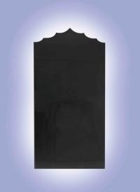 Эксклюзивный памятник из карельского гранита Розы/ Крест/ Драпировка