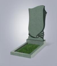 Памятник из зеленого гранита № 57