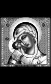 """Икона на памятник """"Богородица Игоревская"""""""