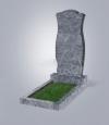 Памятник из голубого гранита № 30